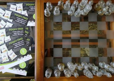 Foody gyár részlet, sakk