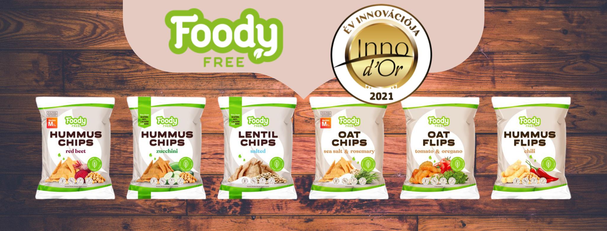 foody free innovációs díj